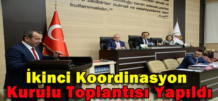 İkinci Koordinasyon Kurulu Toplantısı Yapıldı
