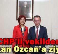 CHP'li vekilden Başkan Özcan'a ziyaret