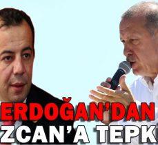 Erdoğan'dan Özcan'a tepki