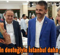 """Doğanay;""""Göynüklülerin desteğiyle İstanbul daha güzel olacak"""""""