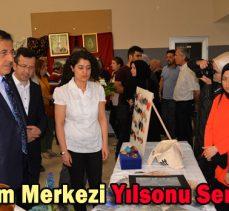 Halk Eğitim Merkezi Yılsonu Sergisi Açıldı