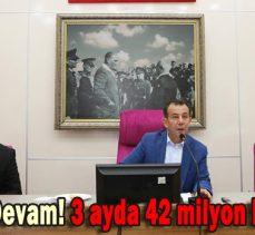 TASARRUFA DEVAM! 3 AYDA 42 MİLYON BORÇ ÖDENDİ