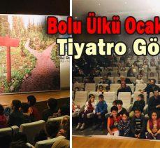 Bolu Ülkü Ocakları'ndan Tiyatro Gösterisi