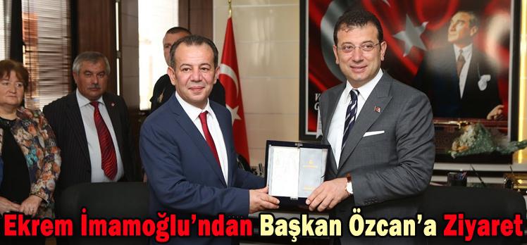 Ekrem İmamoğlu'ndan Başkan Özcan'a Ziyaret