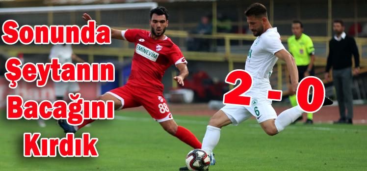 Boluspor 2 – 0 Giresunspor
