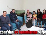 Başkan Özcan'dan ev hanımlarına sürpriz ziyaret