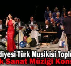 Bolu Belediyesi Türk Musikisi Topluluğundan  Türk Sanat Müziği Konseri