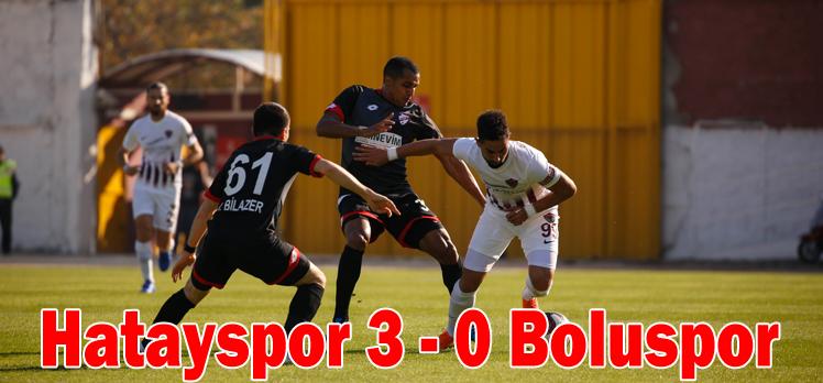 Hatayspor 3 – 0 Boluspor