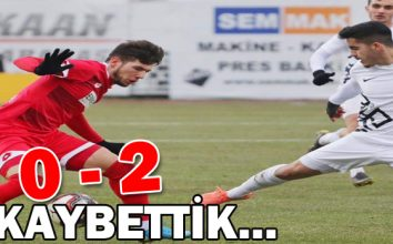 Boluspor 0 – 2 Osmanlıspor