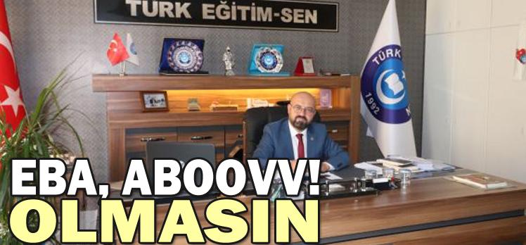 """BAYRAM:""""EBA, ABOOVV!  OLMASIN"""""""