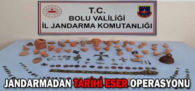 JANDARMADAN TARİHİ ESER OPERASYONU