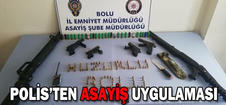 POLİS'TEN ASAYİŞ UYGULAMASI