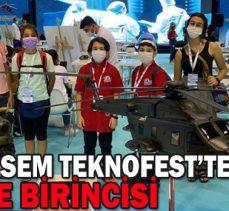 Bolu BİLSEM TEKNOFEST 2020'de Türkiye Birincisi