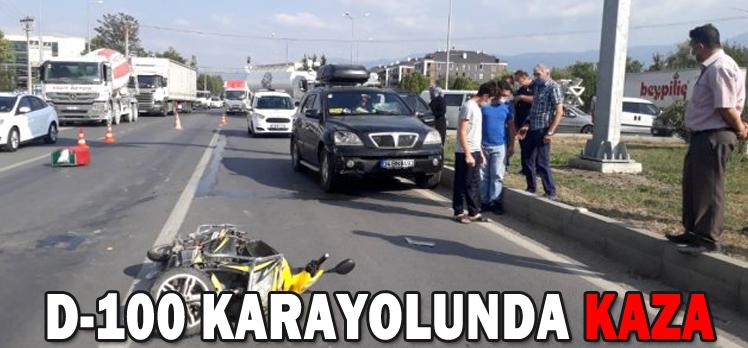 D-100 KARAYOLUNDA TRAFİK KAZASI