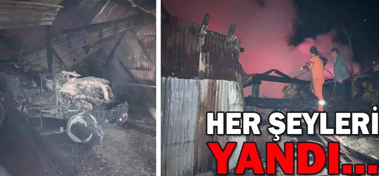 HER ŞEYLERİ YANDI