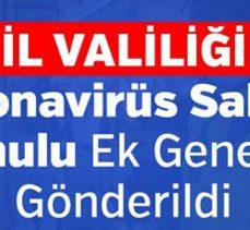 81 İl Valiliğine Koronavirüs Salgını Konulu Ek Genelge Gönderildi