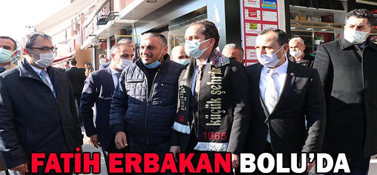 Yeniden Refah Partisi Genel Başkanı Fatih Erbakan, Bolu'da