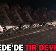 GEREDE'DE TIR DEVRİLDİ