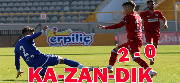 Beypiliç Boluspor 2 – 0 Ankaraspor