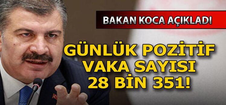 25 Kasım Türkiye'de koronavirüs tablosu
