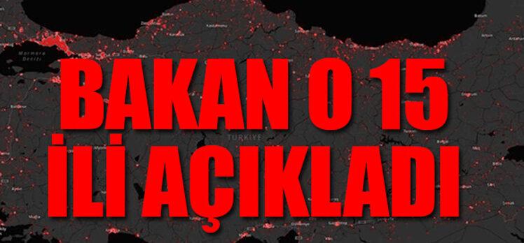 Koca: İstanbul dahil 15 il üçüncü zirveyi yaşıyor