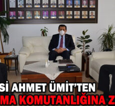 Bolu Valisi Ahmet Ümit'ten İl Jandarma Komutanlığına ziyaret