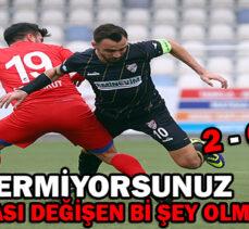 Ankara Keçiörengücü 2 – 0 Beypiliç Boluspor