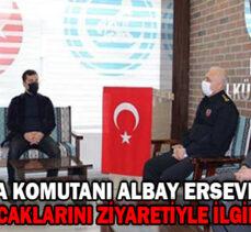 İl Jandarma Komutanı Albay Ersever'den, Bolu Ülkü Ocaklarını ziyaretiyle ilgili açıklama