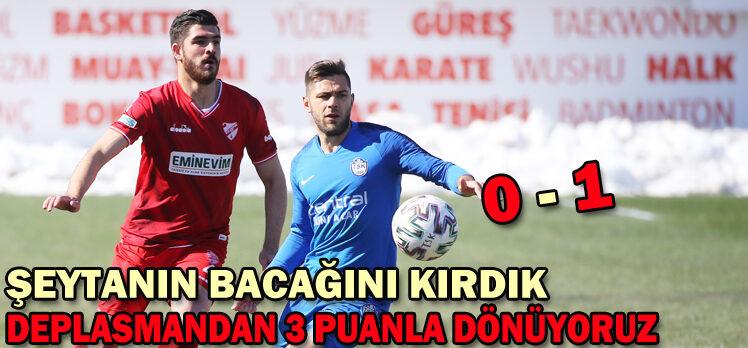 Tuzlaspor 0 – 1 Beypiliç Boluspor