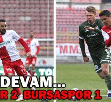 Beypiliç Boluspor 2 – 1 Bursaspor