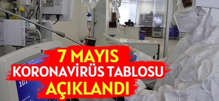 7 Mayıs Türkiye'de koronavirüs tablosu