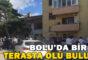 Bolu'da bir kişi terasta ölü bulundu
