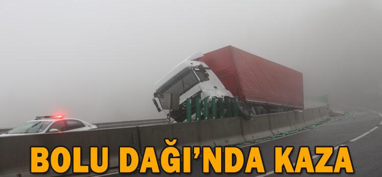 BOLU DAĞI'NDA KAZA