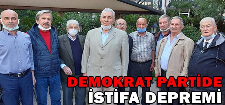 DEMOKRAT PARTİDE İSTİFA DEPREMİ