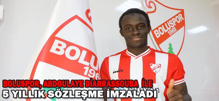 Boluspor, Abdoulaye Diarrassouba ile 5 yıllık sözleşme imzaladı