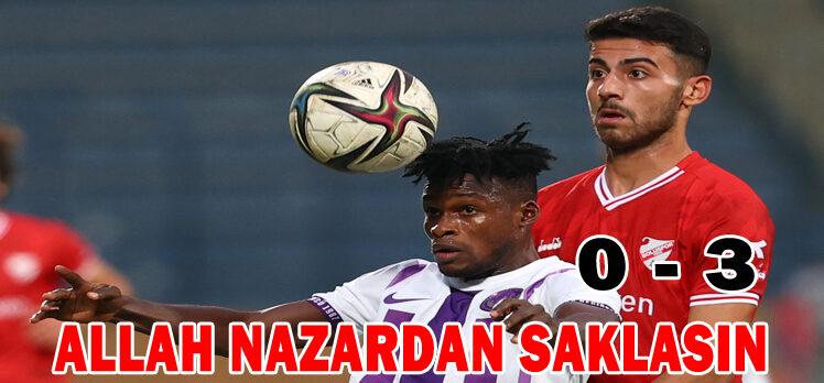 Ankara Keçiörengücü 0 – 3 Beypiliç Boluspor