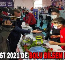 TEKNOFEST 2021'DE BOLU BİLSEM RÜZGÂRI