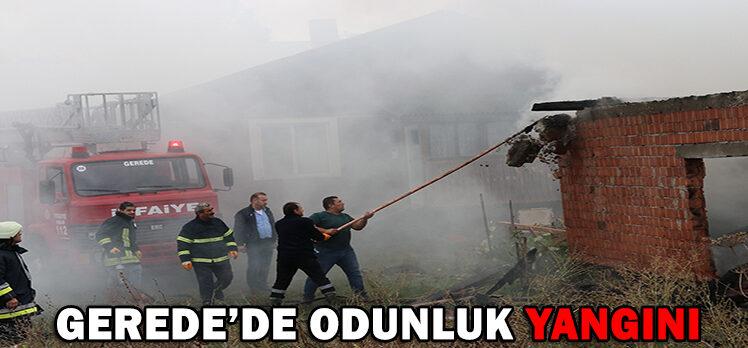 GEREDE'DE ODUNLUK YANGINI